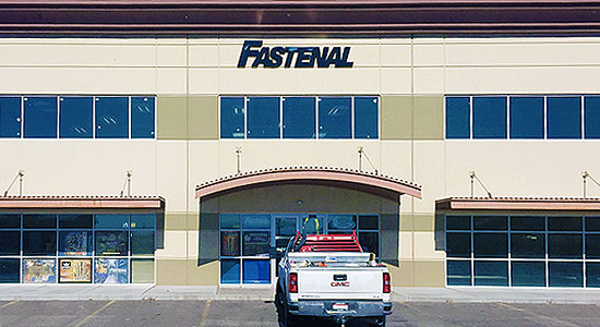 Fastenal retail location at Crossroads Point