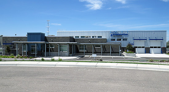 Intermountain Gas Company's Sawtooth District Headquaters and Maintenance Facility at Crossroads Point