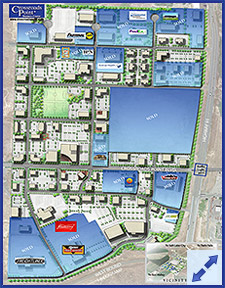 Crossroads Point Business Center Phase 1 Property Status PUD Preview