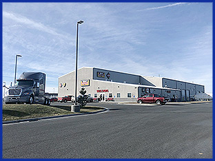 Rush Truck Centers use their 32,500 sq ft facility at Crossroads Point to provide truck sales, parts, service, collision repair, tires, and financial services to help keep the country moving.