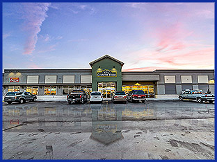 With its prime location at Crossroads Point, Valley Wide Cooperative's 11,000 sq ft Valley Country Store provides travelers with fuel, food, and a friendly smile.