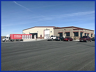 Watkins Distributing's 11,000 sq ft cross-docking facility allows them to deliver Anheuser-Busch products across the Magic and Wood River Valleys.